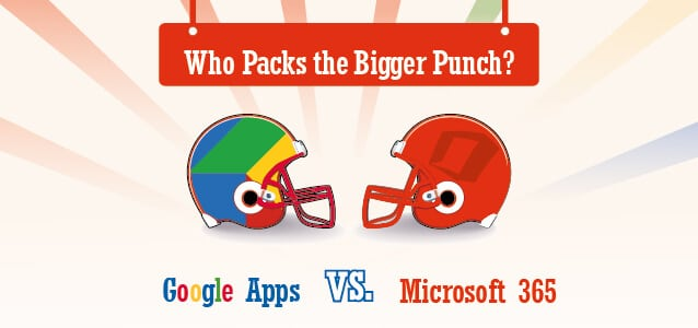 Google Apps vs. Microsoft 365: Who Packs the Bigger Punch?
